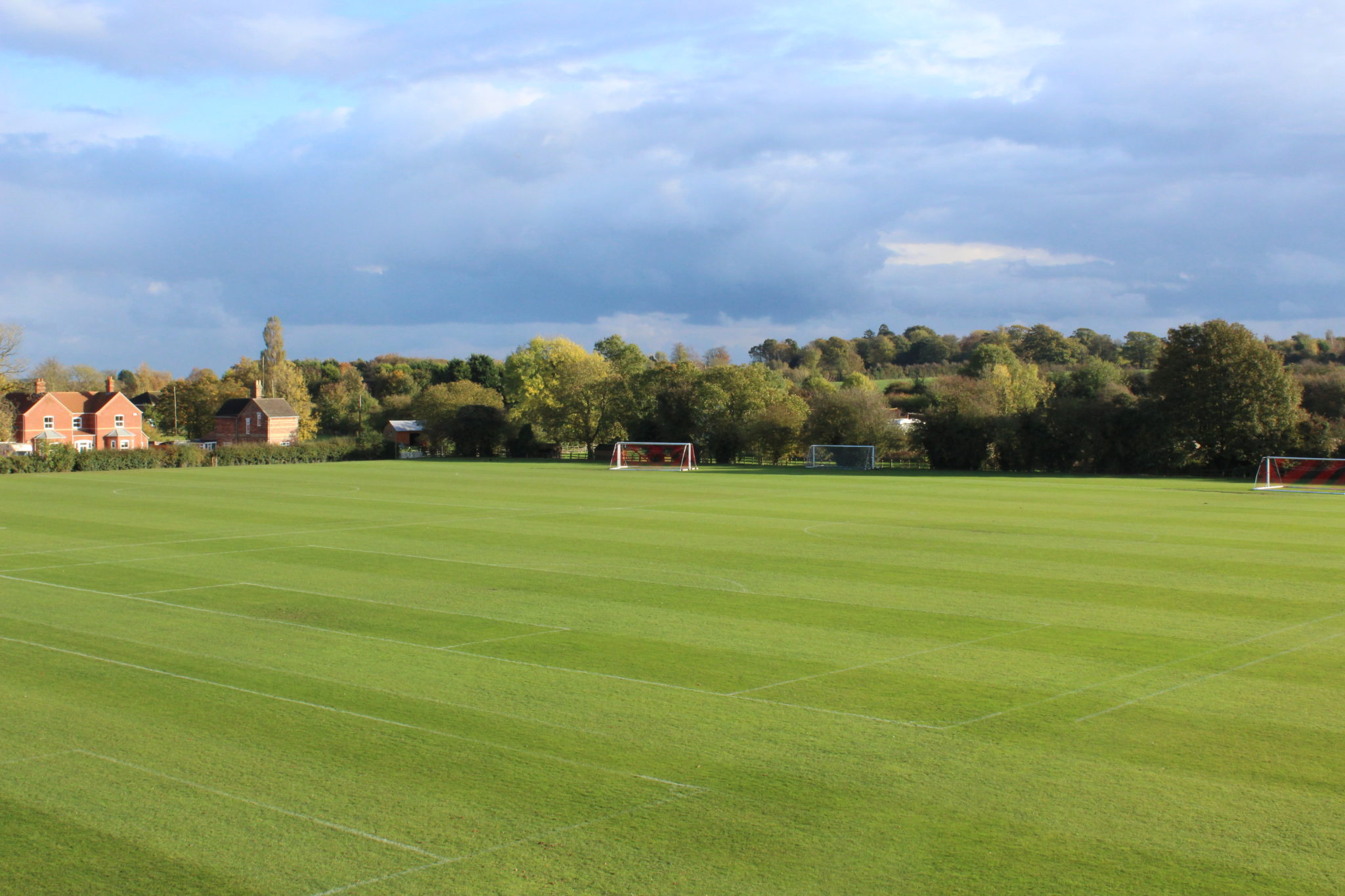 Football Pitch, Grass, London Road Pavilion, Louth, Lincolnshire