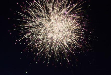 Firework, Mablethorpe Illuminations 2016, Lincolnshire, Event