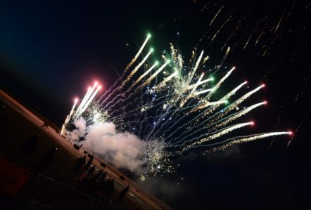 Fireworks, Mablethorpe Illuminations 2016, Events, Lincolnshire