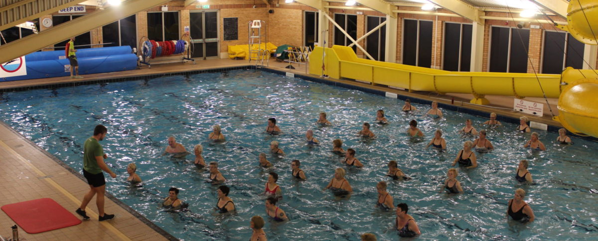 Aquacise, Swimming Pool, Exercise Classes, Skegness Pool & Fitness Suite, Skegness, Lincolnshire