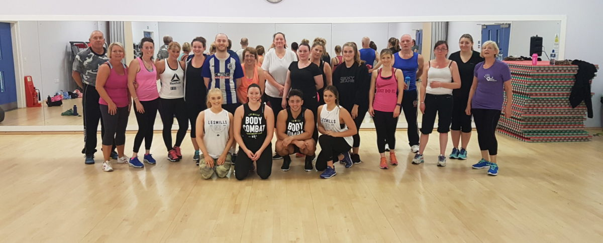 Body Combat Launch, Exercise Class, Dance Studio, Meridian Leisure Centre, Louth, Lincolnshire