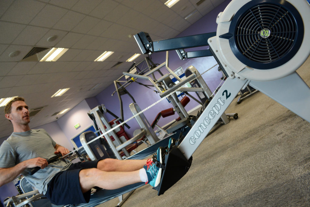Meridian Leisure Centre, Louth Lincolnshire Rowing Machine Gym Fitness