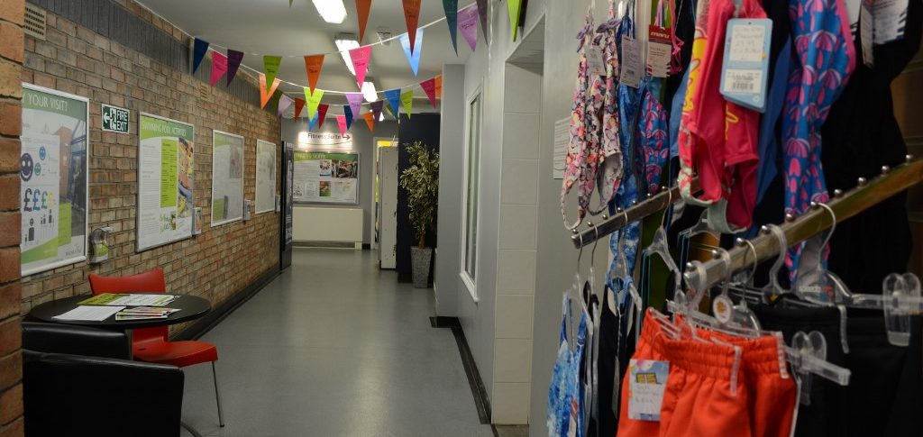 Corridor & Merchandise Horncastle Pool & Fitness Suite, Horncastle Lincolnshire