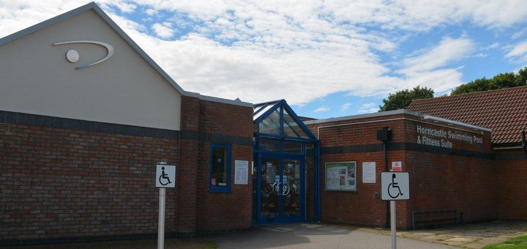 Entrance Horncastle Pool & Fitness Suite, Horncastle Lincolnshire