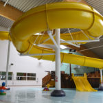 Flume Water Slide Meridian Leisure Centre Swimming Pool Louth Lincolnshire