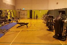 Gym, Weights Area, Station Sports Centre, Mablethorpe, Lincolnshire