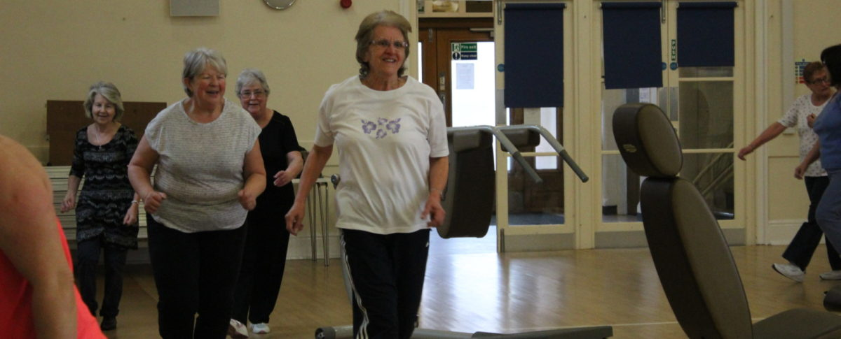 Ladies Running Virtual Gym Spilsby, Franklin Hall, Lincolnshire