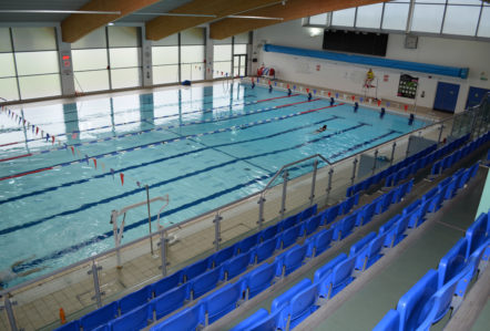 Meridian Leisure Centre Swimming Pool in Louth