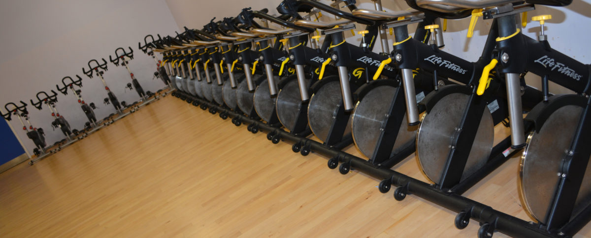 Meridian Leisure Centre Dance Studio Spin Bikes Spinning Louth Lincolnshire