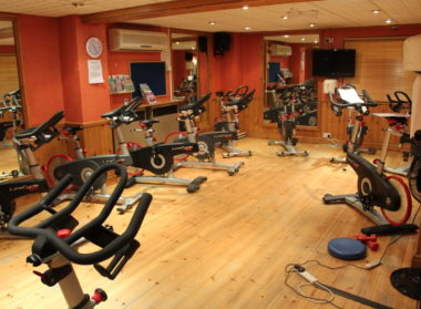 Spinning Room, Spin Bikes, Station Sports Centre, Mablethorpe. Lincolnshire