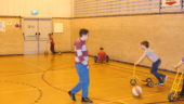 Sports Hall, Childrens Activities, Station Sports Centre, Mablethorpe Lincolnshire