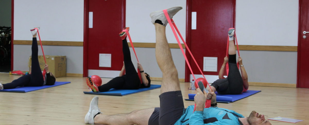 Stretching Class, Bands, Exercise Classes, Skegness Pool & Fitness Suite, Skegness, Lincolnshire