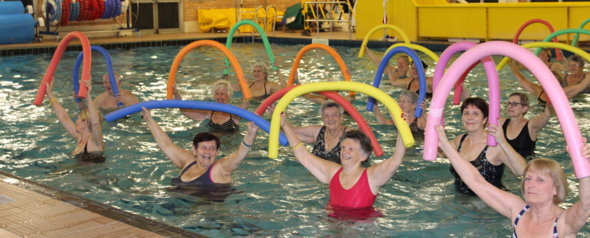 Aquacise, Exercise Classes, Swimming Pool, Skegness Pool & Fitness Suite, Skegness, Lincolnshire