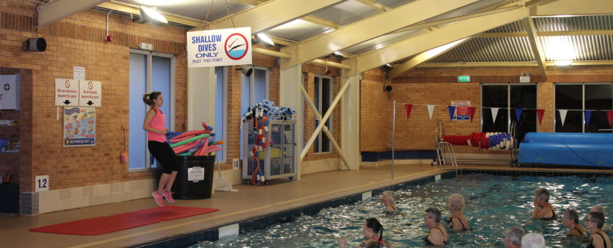 Aquacise, Swimming Pool, Skegness Pool & Fitness Suite, Skegness, Lincolnshire