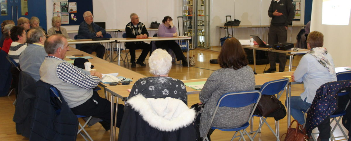 Diabetes Advice Session Meridian Leisure Centre, Louth, Lincolnshire