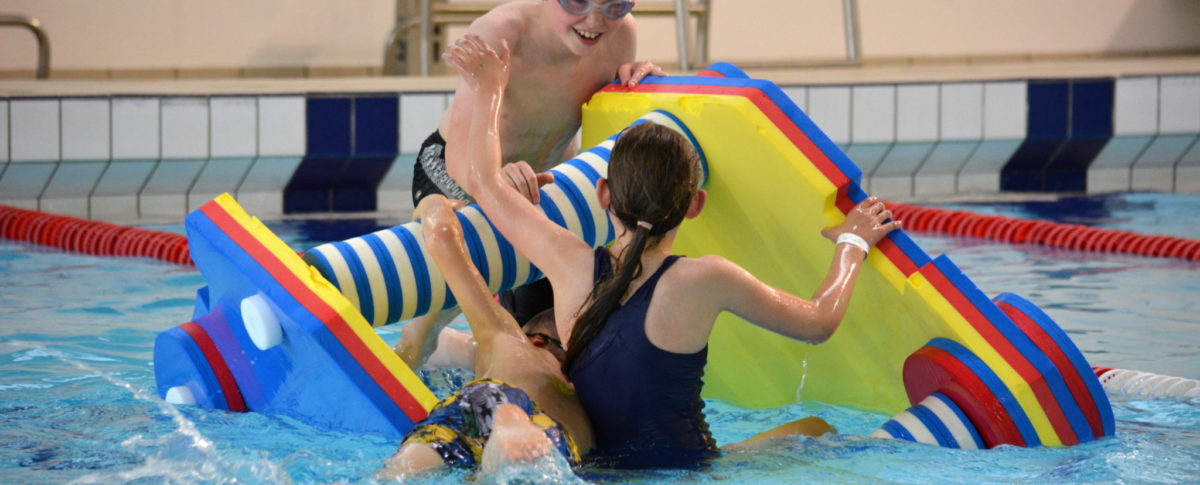 Floats Session Swimming Pool Games East Lindsey Lincolnshire Meridian Leisure Centre, Louth