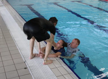 Assisted Lift Paediatric First Aid NPLQ Courses East Lindsey Lincolnshire Meridian Leisure Centre Louth