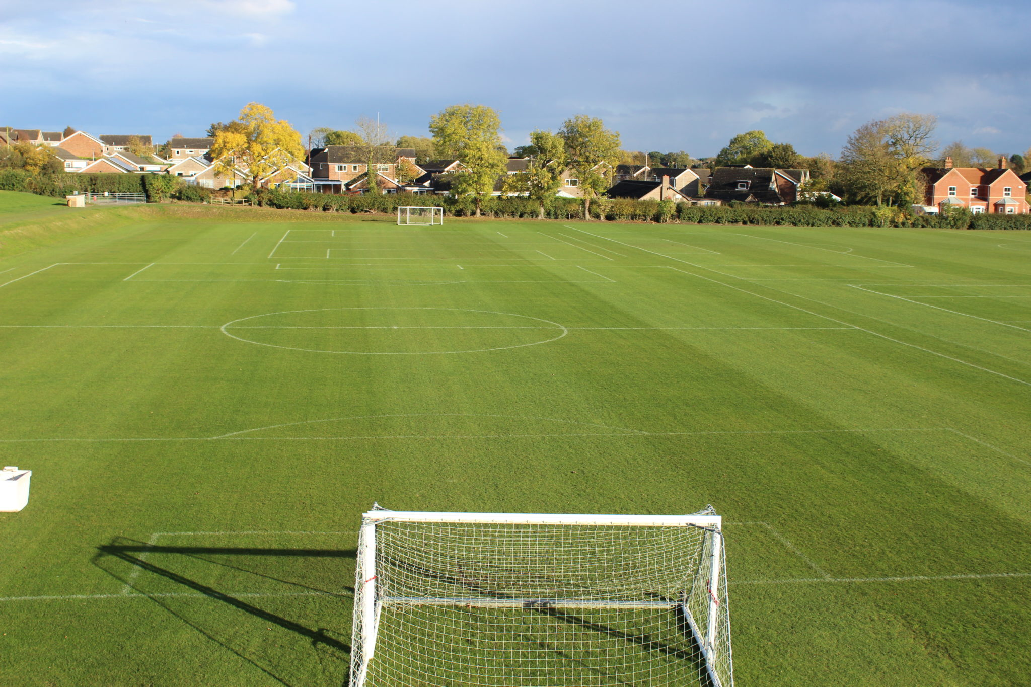 Back Football Pitch, London Road Pavilion, Louth, Lincolnshire