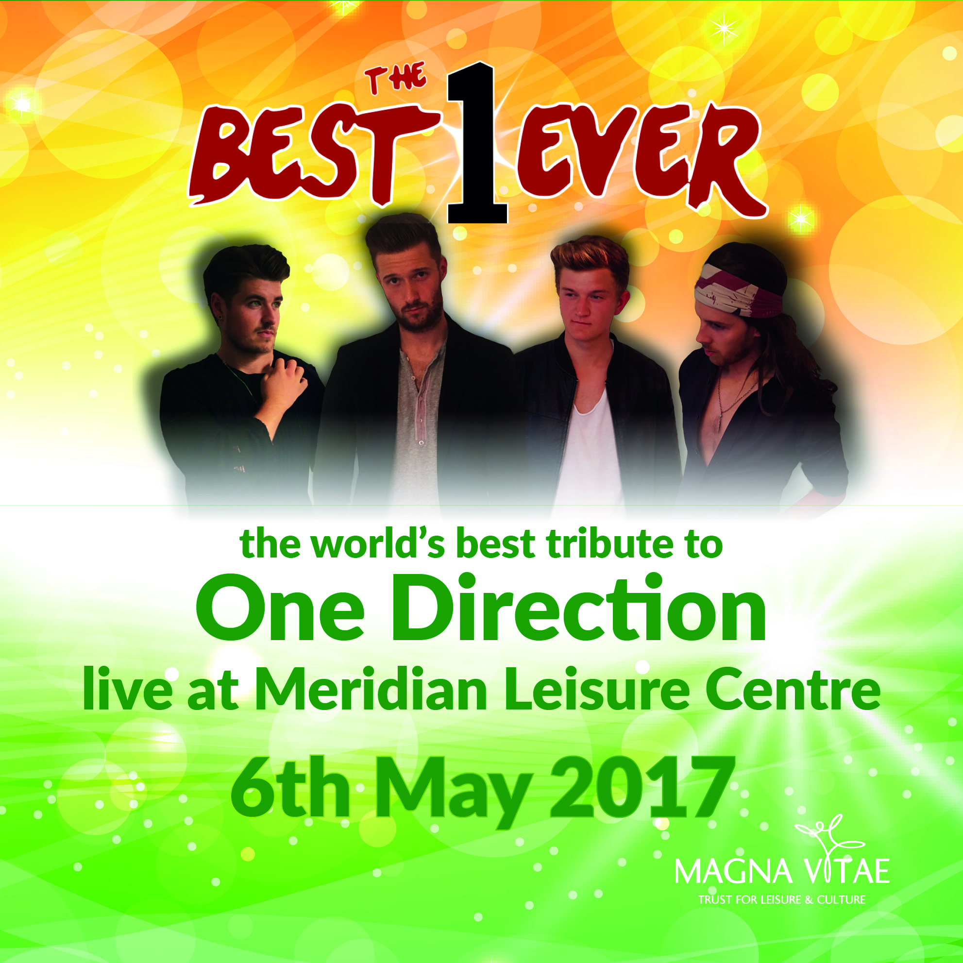 The Best 1 Ever Slider, One Direction Tribute, Louth, Lincolnshire, Meridian Leisure Centre, Event, Concert