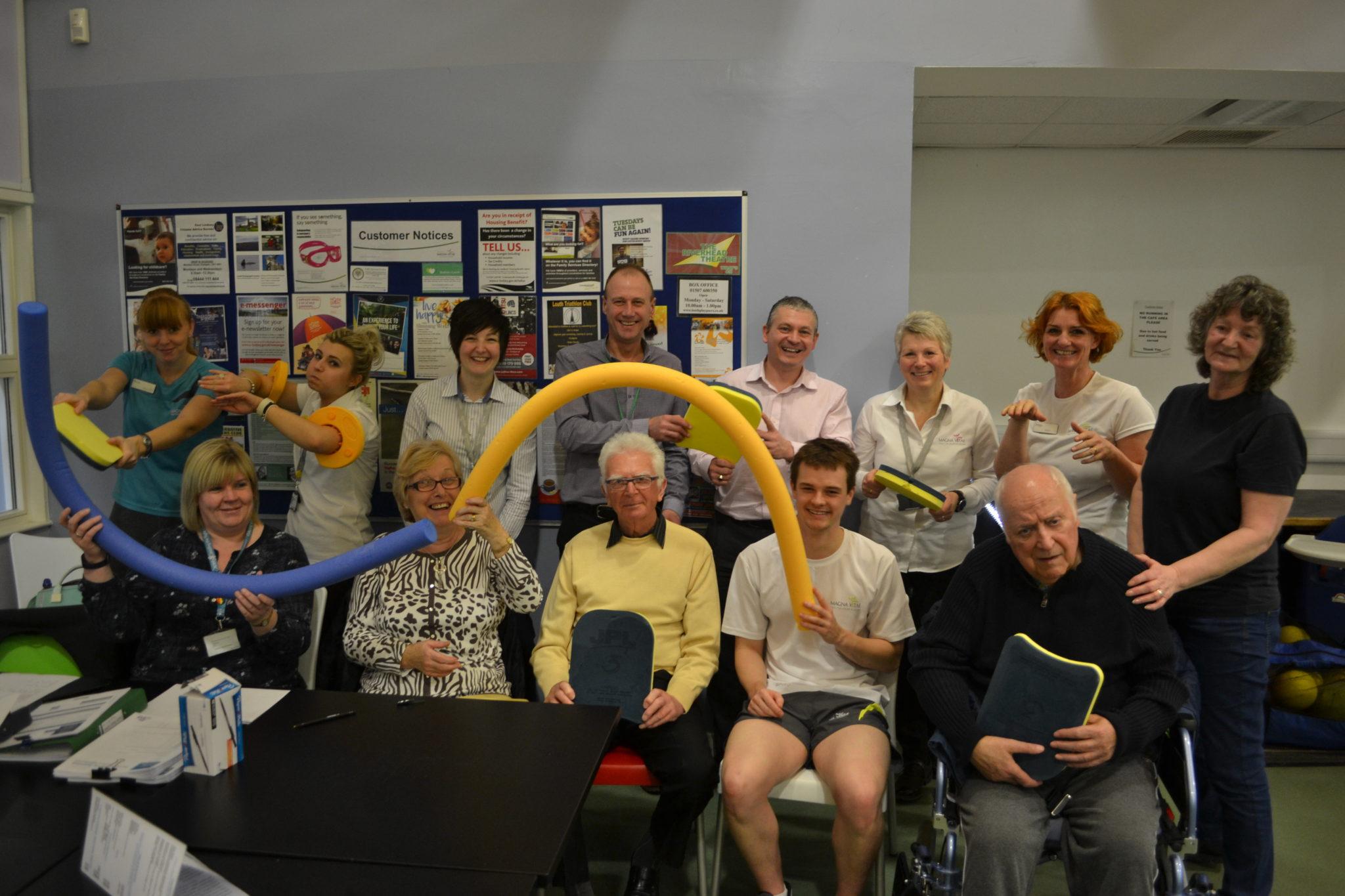 dementia friendly swimming launch