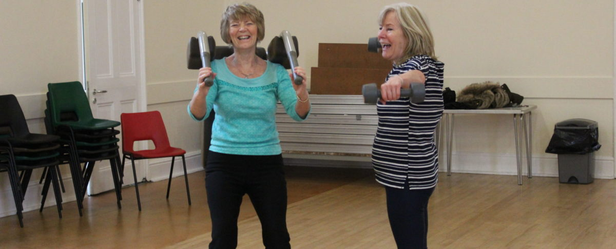 Virtual Gym, Spilsby, Community Exercise, Franklin Hall, Lincolnshire