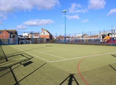 Sutton on Sea Recreational Ground Football Basketball Lincolnshire