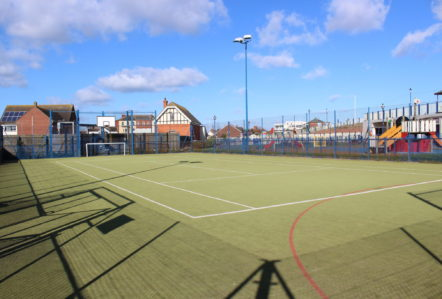 Sutton on Sea Recreational Ground Football Basketball Lincolnshire