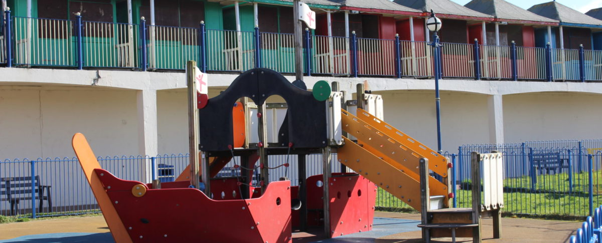 Sutton on Sea Play Area Ship Lincolnshire