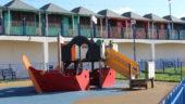Sutton on Sea Play Area Ship Lincolnshire