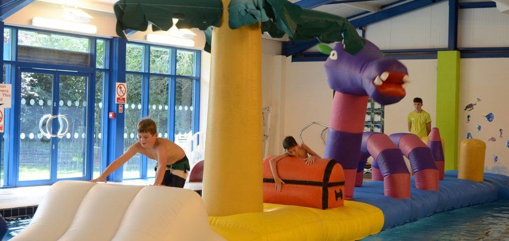 Inflatable Swimming Pool Session, Horncastle Pool & Fitness Suite, Lincolnshire