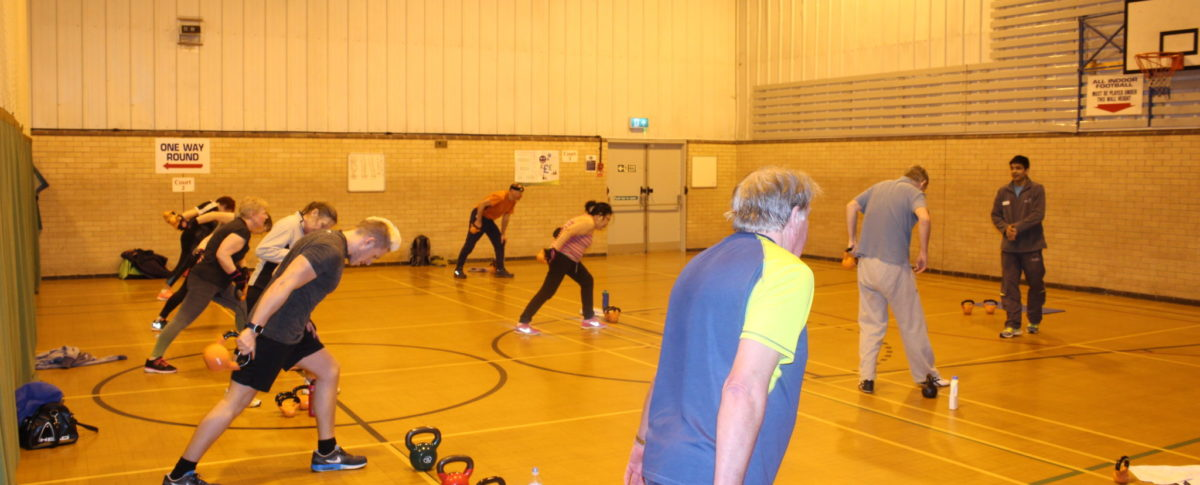 Kettlebells, Exercise Class, Station Sports Centre, Mablethorpe, Lincolnshire