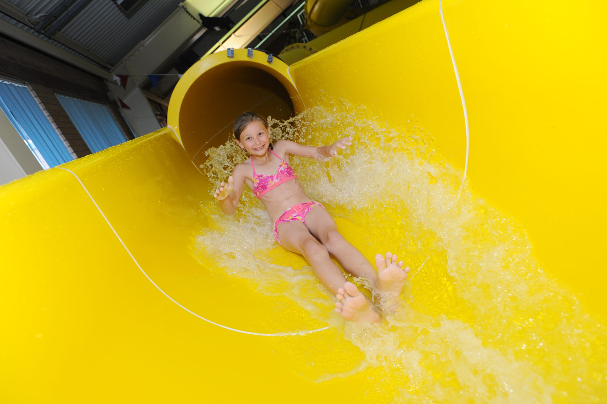 Flume, Water Slide, Swimming Pool, Skegness Pool & Fitness Suite, Lincolnshire
