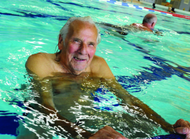 Adult Swimming framework groups Meridian Leisure Centre Louth Lincolnshire