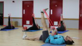 Stretching Class, Bands, Skegness Pool & Fitness Suite, Lincolnshire
