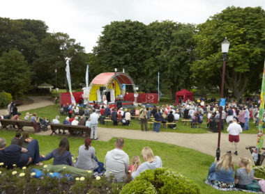 The Bandstand at Tower Gardens, SO Festival, Skegness, Bandstand, Lincolnshire