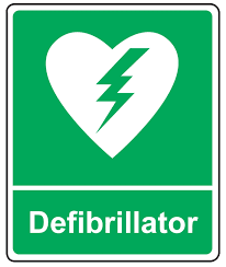 AED automated external defibrillator training