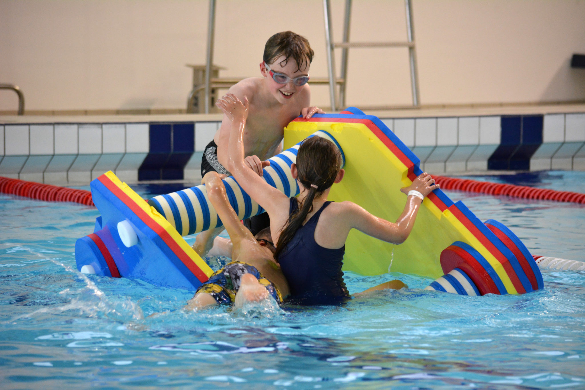 Swimming Fun Session Floats Louth Lincolnshire Meridian Leisure Centre