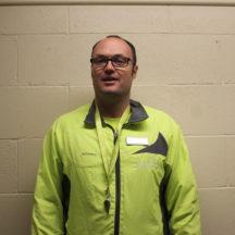 James Gilberthorpe, Leisure Attendant. Magna Vitae, Station Sports Centre