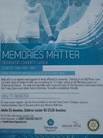 Memories Matter, Dementia Awareness Week
