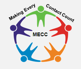 Make Every Contact Cunt (MECC) logo