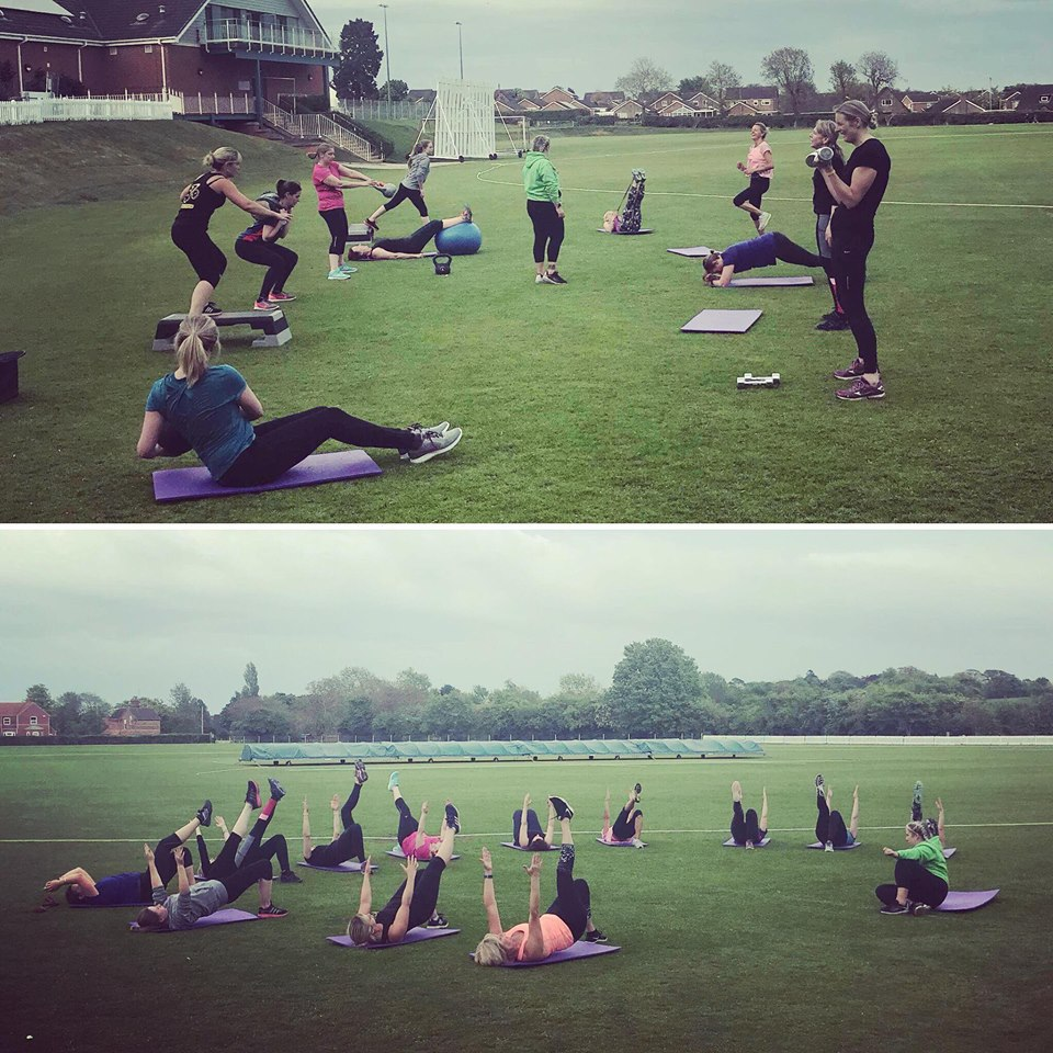 Sunset Bootcamp, London Road Pavilion, Louth, Lincolnshire, exercise class