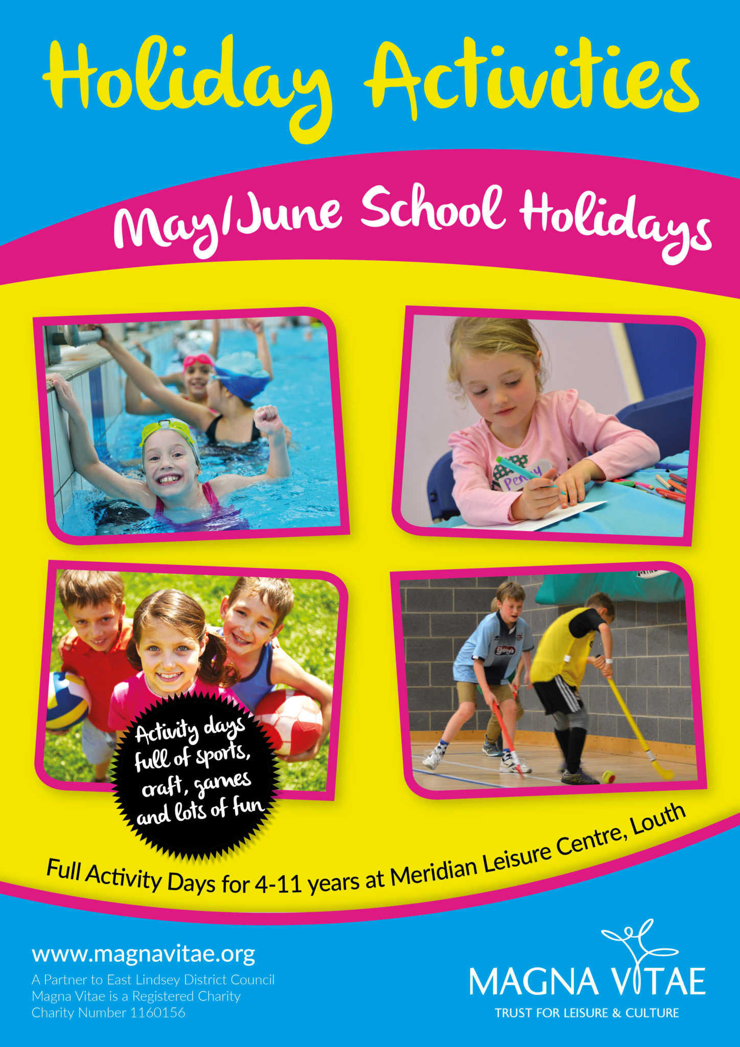 May at magna vitae magna vitae for Horncastle swimming pool opening times