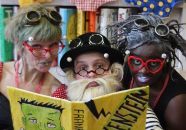 Rhubarb Theatre, Bookworms, SO Festival 2018, Magna Vitae
