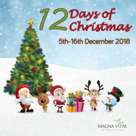 12 Days Before Christmas.12 Days Of Christmas Magna Vitae